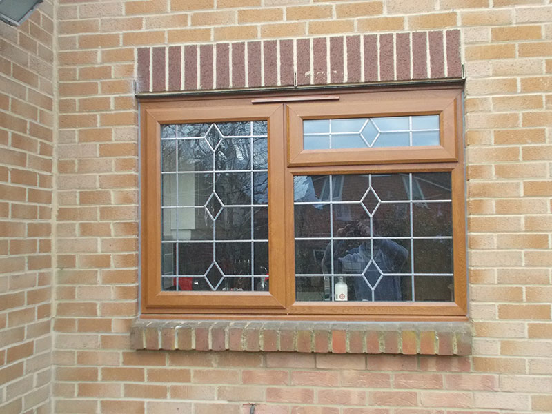Light Oak UPVC Windows and Doors Sutton Surrey |Diamond